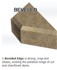 Beveled Edge